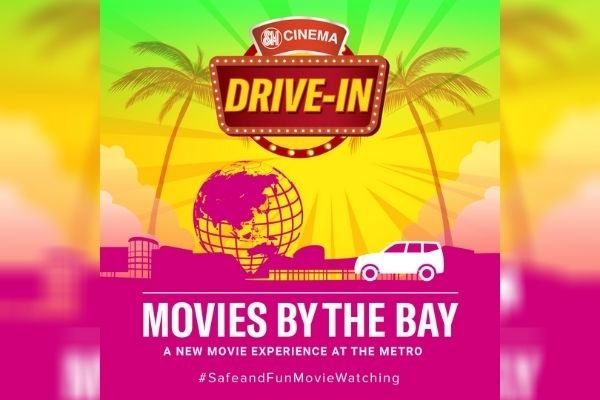 SM ad for its drive-in movie theater