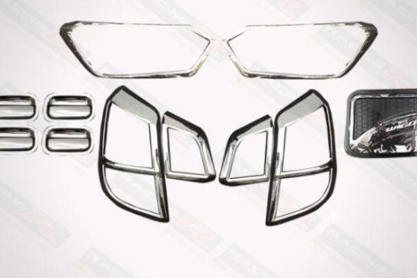 Toyota Wigo Garnish Cover Set Chrome