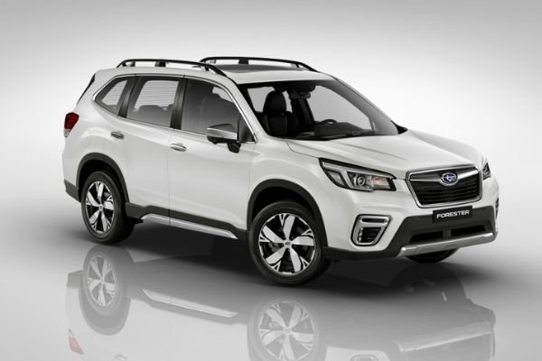 The 2020 Subaru Forester in Crystal White Pearl