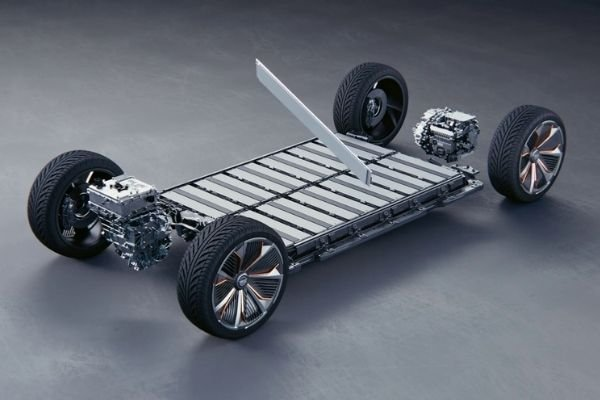A picture of GM's EV platform.