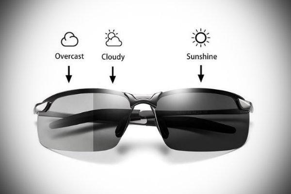 Photochromic Driving Sunglasses for Men