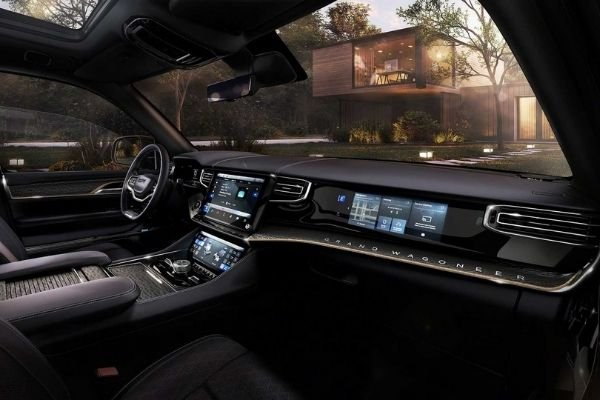 Front cabin view of the 2022 Wagoneer concept