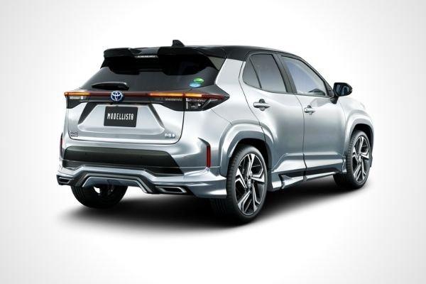 Toyota Yaris Cross AdvanceRobust Style (rear)