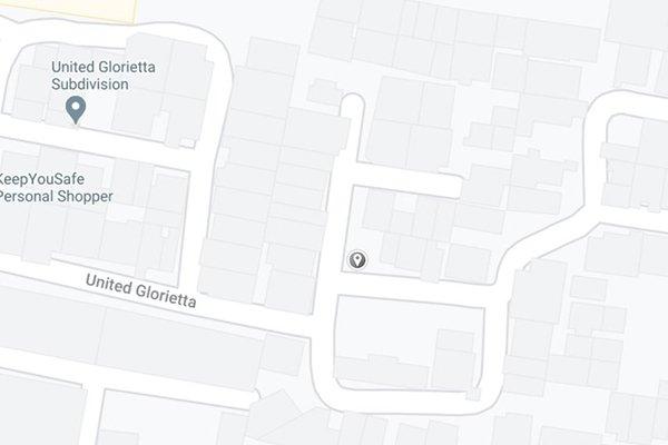 A picture of a Google Maps screenshot.