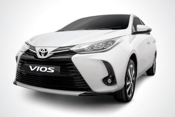 A picture of a Toyota Vios