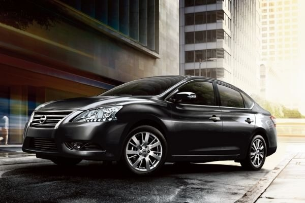 A picture of the current Philippine-spec Nissan Sylphy.