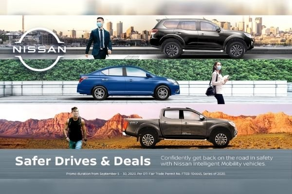 Nissan's Safer Drives and Deals promo ad