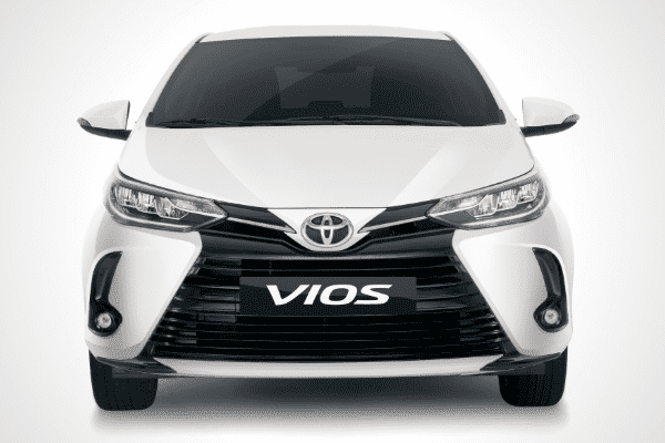 A picture of the Toyota Vios front