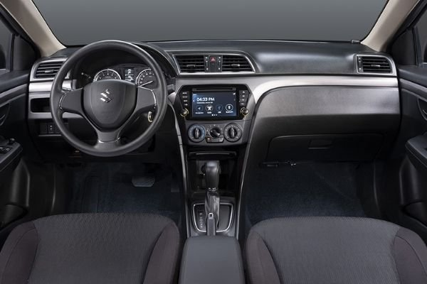 A picture of the interior of the Ciaz