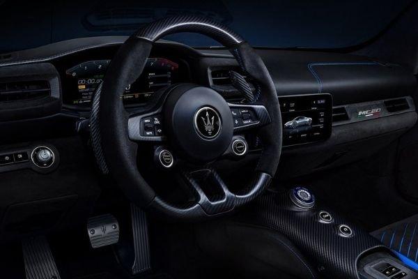 MC20 steering wheel