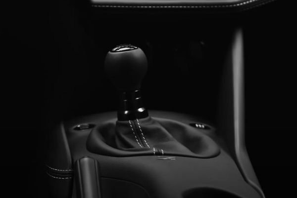A picture of the future Z car's manual transmission.