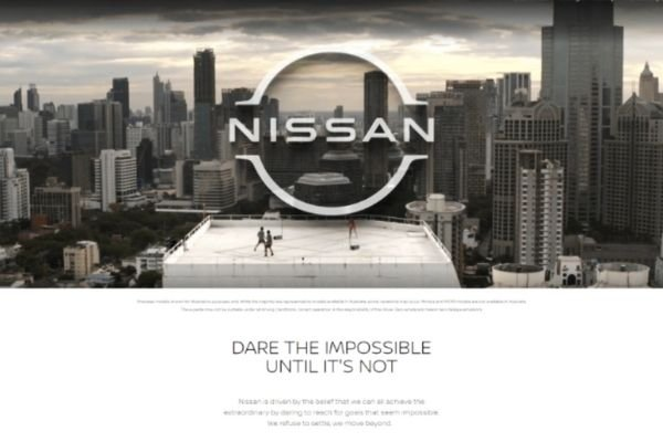 Nissan's 'Dare the impossible, until it's not' campaign ad