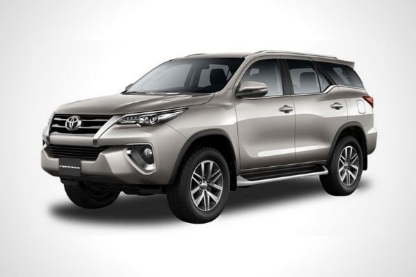 The Toyota Fortuner model sold in the Philippines