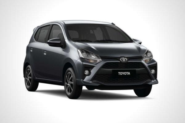 A black Toyota Wigo