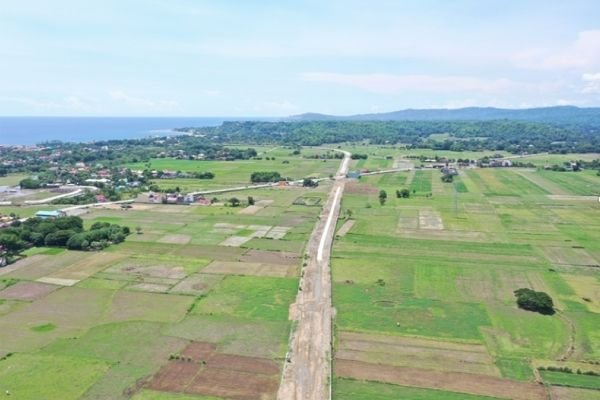 A new bypass road will soon be constructed here by DPWH