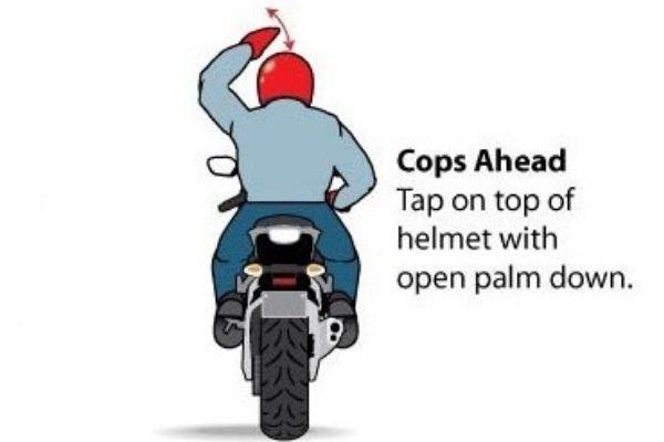 Police ahead
