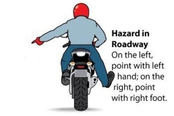 Indicating a hazard