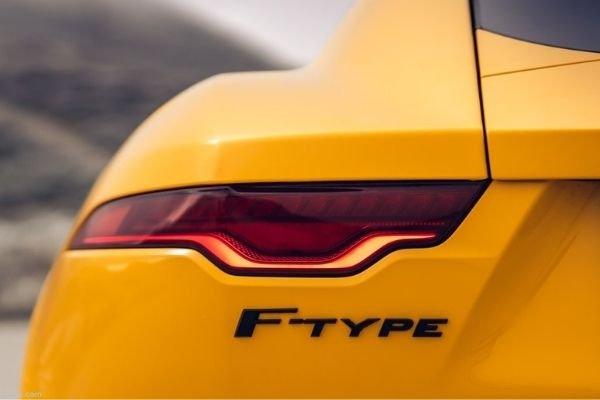 F-Type tail lamp