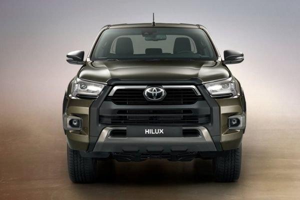 Hilux front