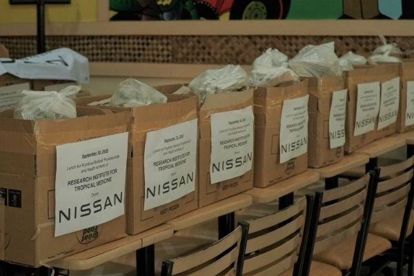 The donations made by Nissan in the Philippines
