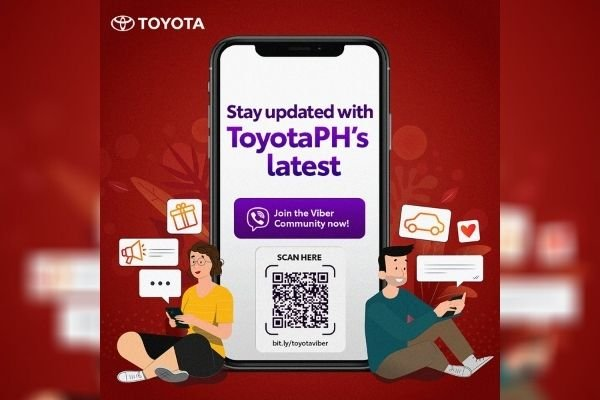 The Toyota PH Viber ad