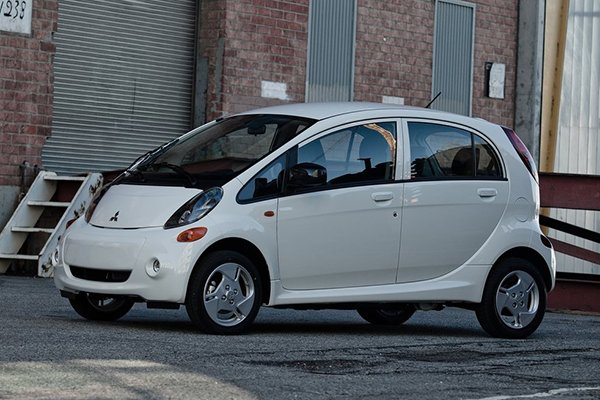 A picture of the Mitsubishi i-MiEV