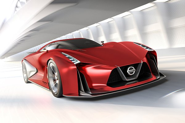 A picture of the Nissan GT-R Vision Concept