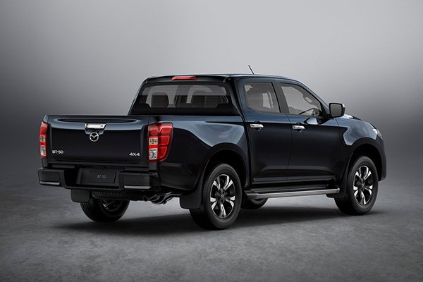 A picture of the rear of the Mazda BT-50