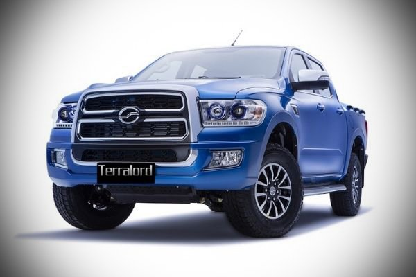 A picture of the Terralord's front end