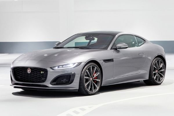 The F-Type in silver finish