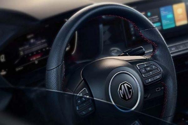 MG 5 steering wheel
