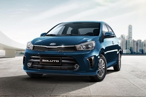 A picture of the Kia Soluto.