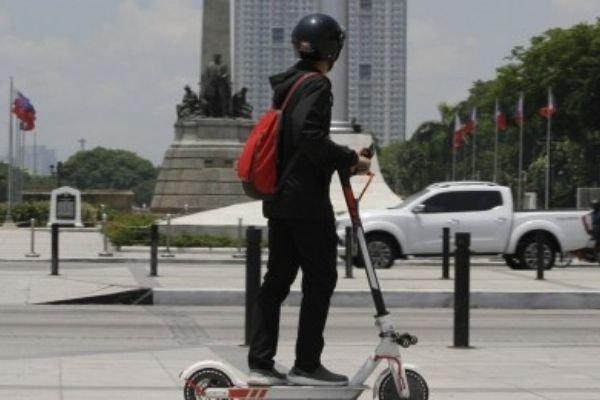 Man on e-bike 2