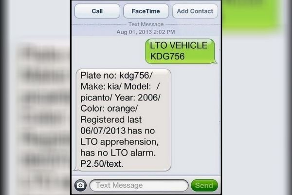 A LTO Mobile Query text