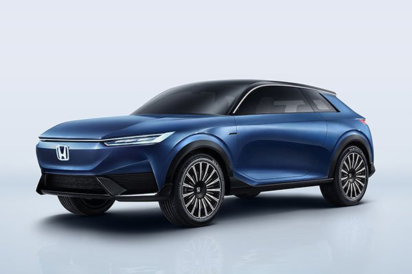 A picture of the Honda SUV e:concept