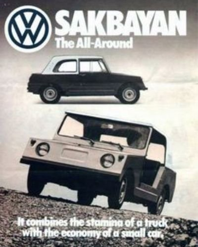 A picture of the VW Sakbayan poster.