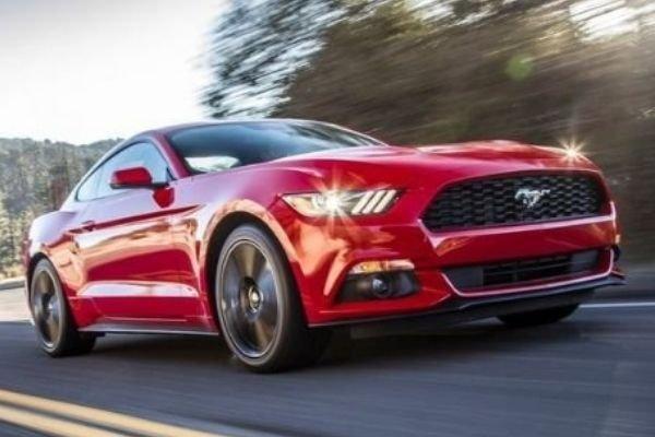 Mustang red 2