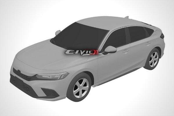 2022 Honda Civic Hatchback patent image