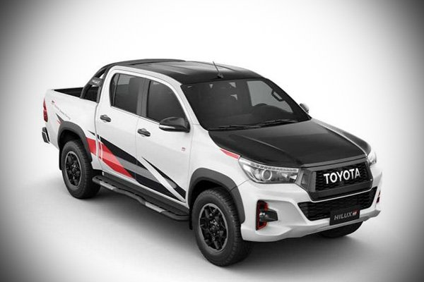 A picture of the GR Hilux.