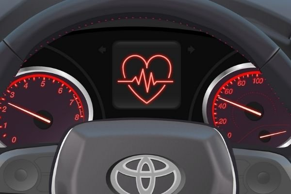 Toyota's research for detecting heart problems while driving