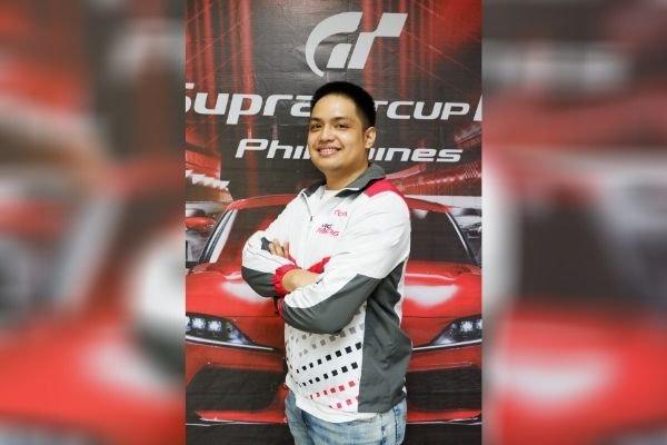 Lance Padilla in local Supra GT competition