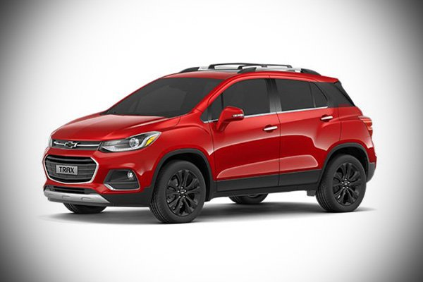 A picture of the 2021 Trax Premier.