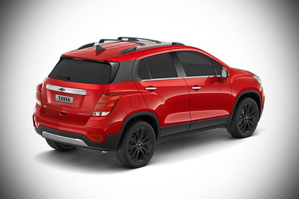 A picture of the rear of the 2021 Trax Premier.