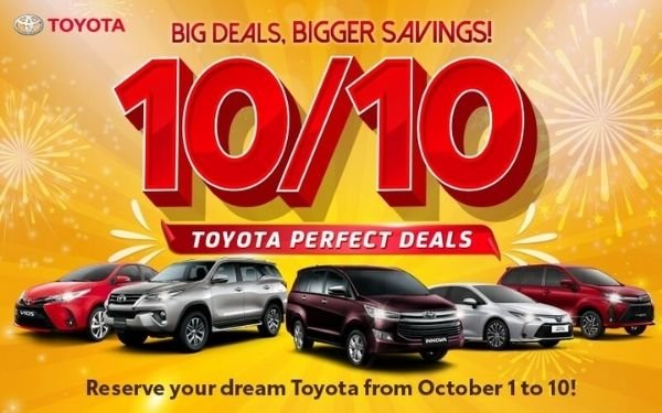 A picture of the 1010 toyota Deals.