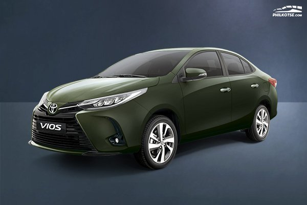 A picture of the 2020 Toyota Vios.