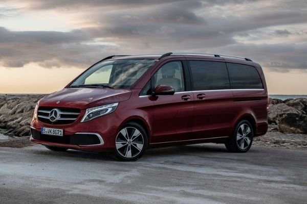 A picture of the MB V-Class.