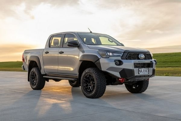 A picture of the Toyota Hilux Mako.