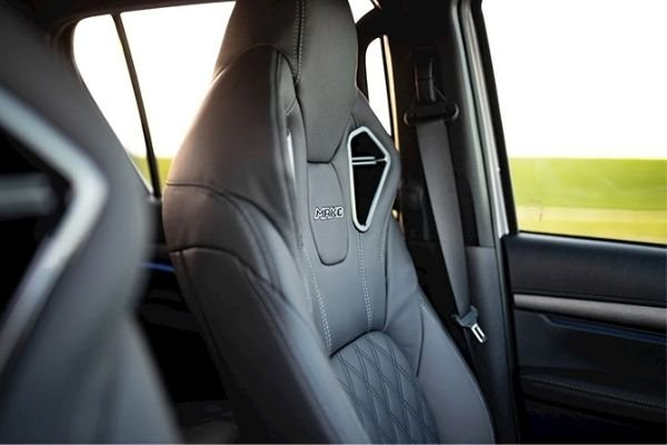 A picture of the Hilux Mako's seats.
