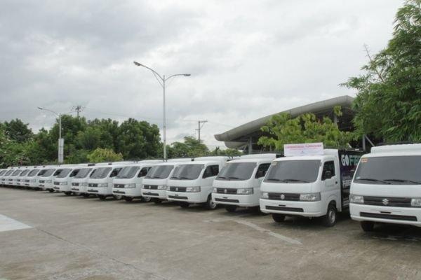 Suzuki's compact truck turnover
