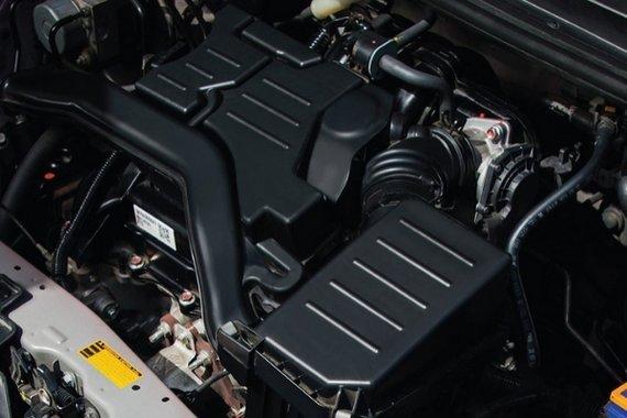 The Toyota Wigo's engine